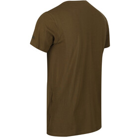 Regatta Cline IV T-Shirt Homme, camo green